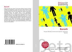Capa do livro de Baronh