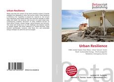 Bookcover of Urban Resilience
