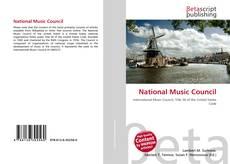 Portada del libro de National Music Council