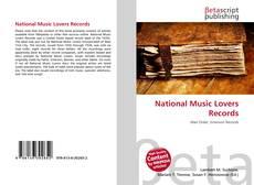 Portada del libro de National Music Lovers Records