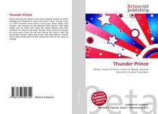 Capa do livro de Thunder Prince