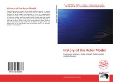 Capa do livro de History of the Actor Model