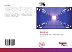Bookcover of He Qun