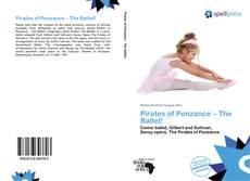 Capa do livro de Pirates of Penzance – The Ballet!
