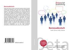 Обложка Barossadeutsch