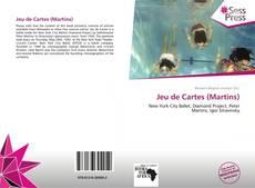 Capa do livro de Jeu de Cartes (Martins)