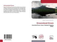 Bookcover of Greenstead Green