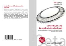 Bookcover of Sandy River and Rangeley Lakes Railroad