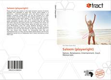 Couverture de Saleem (playwright)