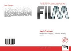 Capa do livro de José Clímaco