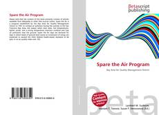 Buchcover von Spare the Air Program