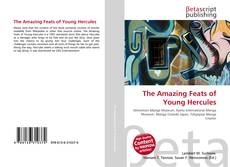 Capa do livro de The Amazing Feats of Young Hercules