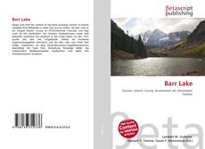 Bookcover of Barr Lake