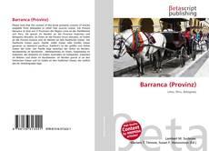 Portada del libro de Barranca (Provinz)