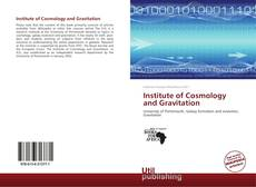 Buchcover von Institute of Cosmology and Gravitation