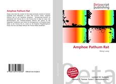 Bookcover of Amphoe Pathum Rat