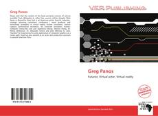 Bookcover of Greg Panos