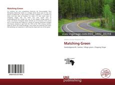 Bookcover of Matching Green
