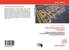 Bookcover of 1951 Gillingham Bus Disaster