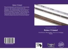 Bookcover of Rainer Frimmel