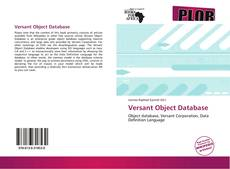 Bookcover of Versant Object Database