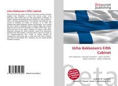 Bookcover of Urho Kekkonen's Fifth Cabinet