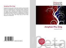 Bookcover of Amphoe Phu Sing