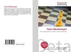 Bookcover of Tatev Abrahamyan