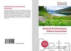 Portada del libro de National Parliamentary Debate Association