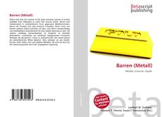 Bookcover of Barren (Metall)