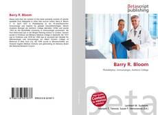 Couverture de Barry R. Bloom