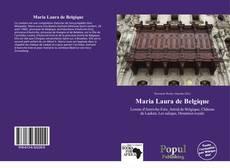 Capa do livro de Maria Laura de Belgique