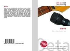 Buchcover von Barré