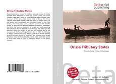 Capa do livro de Orissa Tributary States