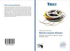 Bookcover of Marie-Louise Ekman