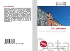 Bookcover of Orla Lehmann