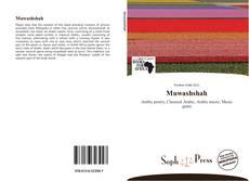 Couverture de Muwashshah