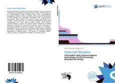 Bookcover of Internet Studies