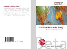 Bookcover of National Peasants' Party
