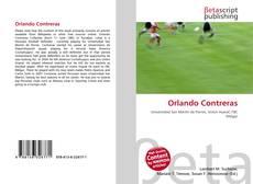 Portada del libro de Orlando Contreras