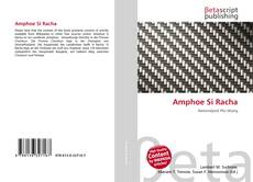 Bookcover of Amphoe Si Racha