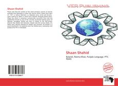 Bookcover of Shaan Shahid