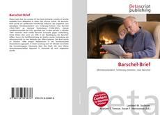 Buchcover von Barschel-Brief