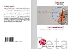 Orlando (Opera)的封面