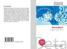 Bookcover of Barstukken