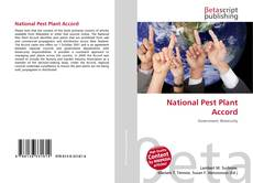 Bookcover of National Pest Plant Accord