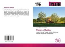Обложка Mercier, Quebec