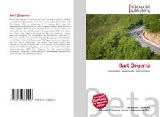 Portada del libro de Bart Oegema