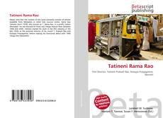 Bookcover of Tatineni Rama Rao