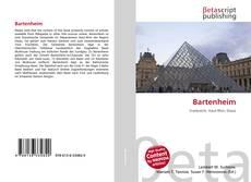 Bookcover of Bartenheim
